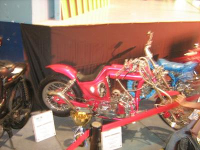 Converted Underbone Chopper