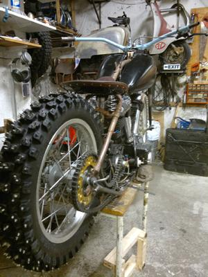 Home Build 1946 Harley Flathead