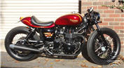 custom triumph cafe racer