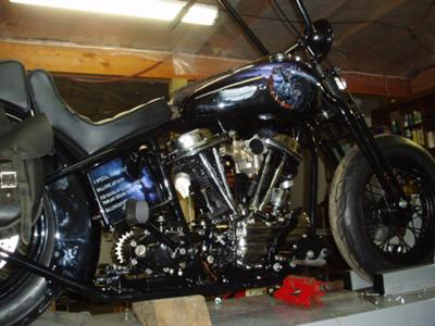 1957 Panhead Chopper