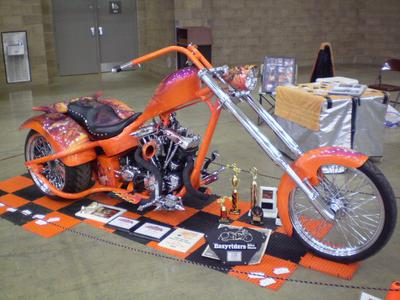1967 HD Trike Easy Rider Show Winner