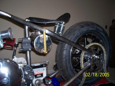 Oil Tank and Seat