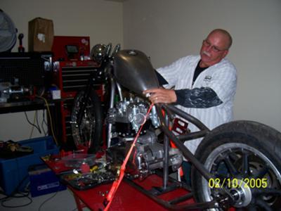1969 Triumph Bonneville Hard Tail