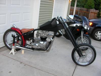 Triumph Custom Chopper