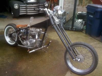 1970 Triumph Chopper