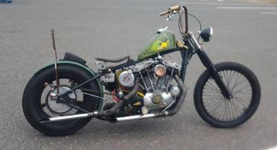 1972 Iron Head Chopper