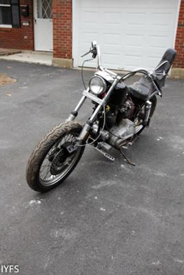 1974 Ironhead Front End