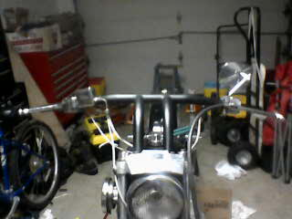 Drag Bars on Sporster Ironhead