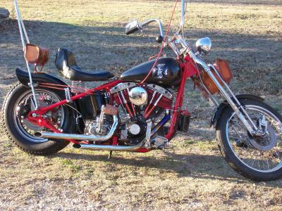 1978 shovelhead chopper