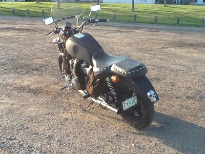 Xs1100 Rear
