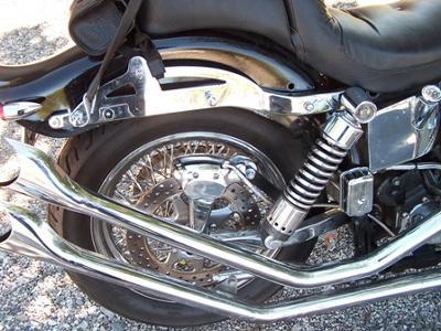 FX Harley Rear End