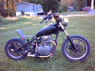 XS 650 Rat Bike!