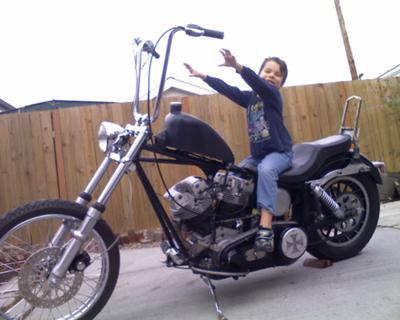 1982 Shovelhead Chopper
