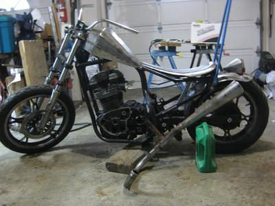 blow motor and exhaust