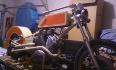 Virago Chopper Project