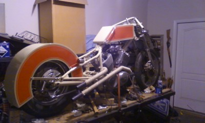Motorcycle Lift Side View