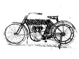 19th century motorcycle