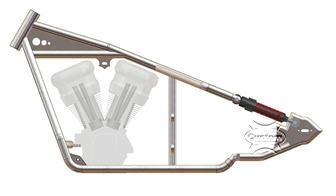 softail sportster frame