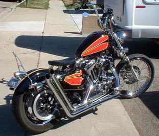 sportster conversion