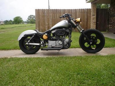 Aftermarket Wheels on 2001 Harley Davidson Sporty 21278665 Jpg