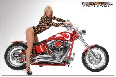2004 FXSTi Softail Custom Motorcycle
