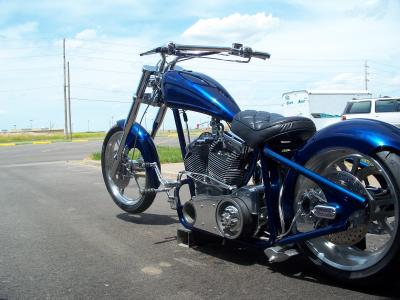 Blue Thunder 2006 Custom Chopper