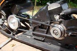 mini chopper chain saw engine