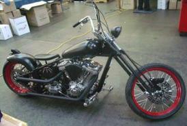 custom bobber chopper