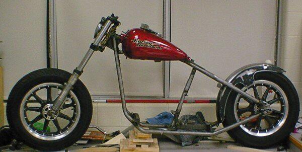 custom motorcycle Betty
