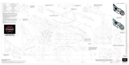250 rigid sportster frame plans