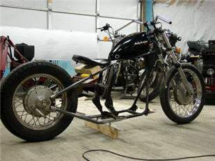 hardtail bobber rolling chassis