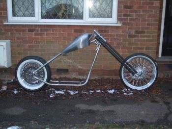 hardtail rolling chassis