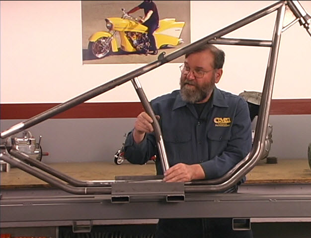 chopper frame assembly
