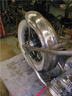 custom chopper fender