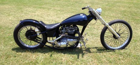 1968 triumph chopper