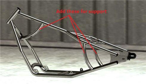 frame support bar