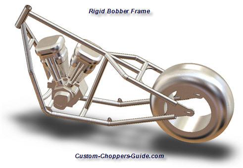 hardtail bobber frame