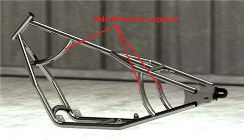frame support bar