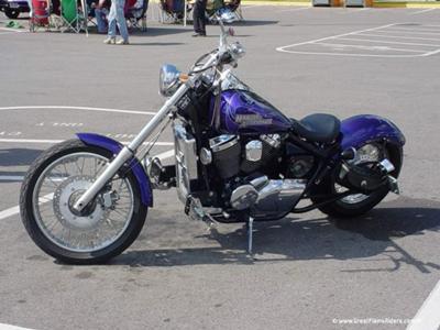 honda spirit hardail chopper