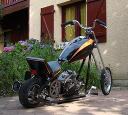 Rear Wheel Mini Chopper