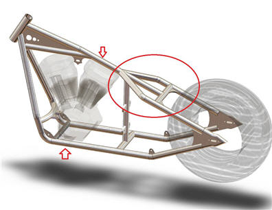 Lower A Motorcycle