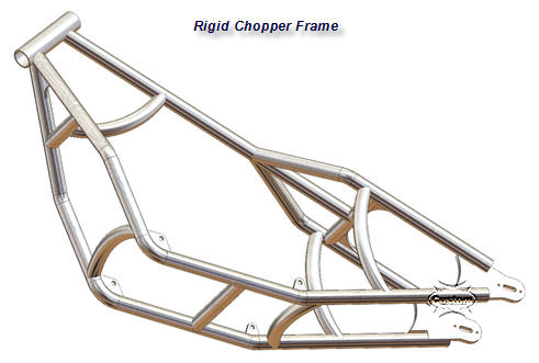 Customs Wheels on Additional Technical Details Of The Rigid  Chopper Frame  Plans