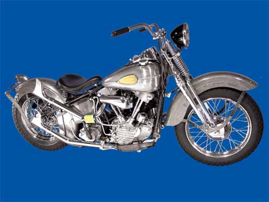 Knucklehead Bobber Kit Bike