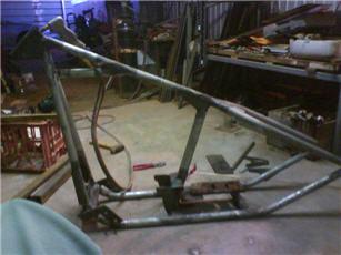 shovelhead bobber frame