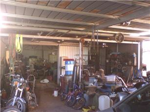 fabrication shed