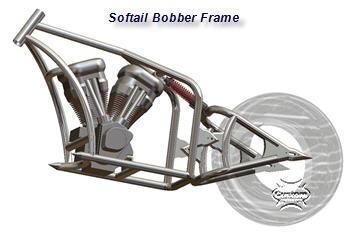 softail bobber frame