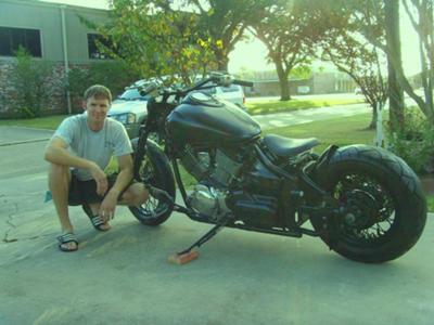Americanized Yamaha Bobber
