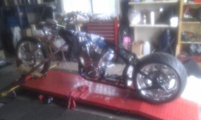 Aussie Godfather Kit Chopper Engine In