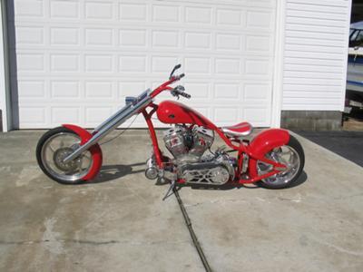 backyard chopper build