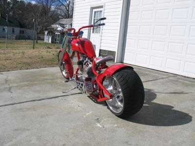 Home Built Chopper Front End